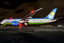 Uzbekistan's first Boeing 787-8 Dreamliner has now entered commercial ...