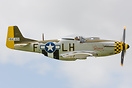 Maurice Hammond flies the beautifully restored P51D which form just pa...