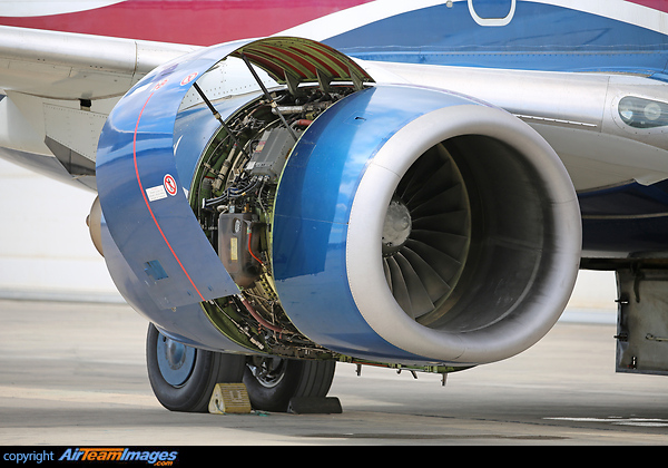Pratt & Whitney PW4000 Engine