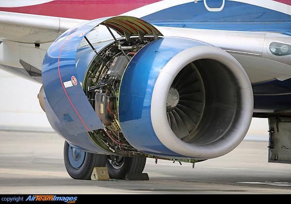 Pratt & Whitney PW4000 Engine (5N-MJH) Aircraft Pictures & Photos ...