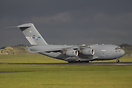 NATO C17 seen here at RAF Leeming operated by Strategic Airlift Capabi...
