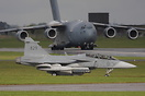 seen here at RAF Leeming on Excersize passing Nato C17 01