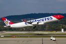 First Edelweiss Air Airbus A340-300 obtained from mother Airline Swiss...