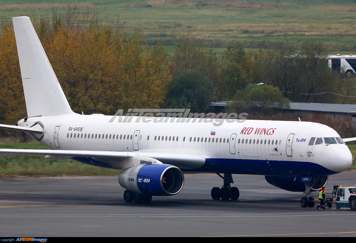 Tupolev Tu 214 Large Preview Airteamimages Com