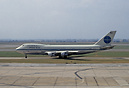 "Pan Am Boeing 747-100 N739PA ""Clipper Maid of the Seas"" was brought do..."