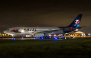 Air Transat Airbus A330 leased to Travel Service for the winter season...
