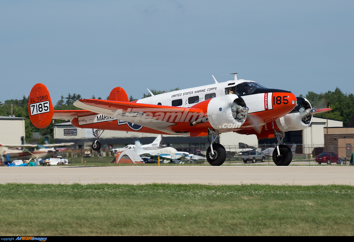 Beech D18S - Large Preview - AirTeamImages.com