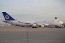 Recently painted at Air Livery Manchester, Air Atlanta Boeing 747-400F...