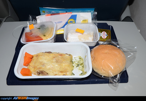 Ukraine Airlines Meal