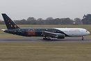 On-line Party Poker had chartered this Titan Airways Boeing 767-300 G-...