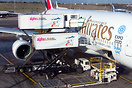 Simultaneous loading of all 3 decks on the A380