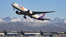 A Fedex dominated flightline at Anchorage just another routine day in ...