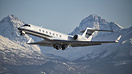 This Teterboro based G550 blasts out of Anchorage.