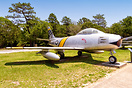 North American F-86F-26-NH Sabre, 52-5513, marked as F-86F-1-NA, 51-29...
