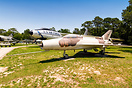 Mikoyan-Gurevich MiG-21F Fishbed C/E, '014', displayed in typical Russ...