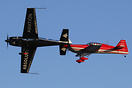 Two members of the Fire Stars aerobatic team practicing for the World ...