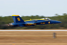 Blue Angel #6 was flown by Cdr. Frank Weisser during the second half o...
