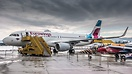 The first Salzburg-based A320 of Eurowings Europe on the Apron of RedB...