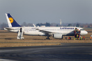 Airbus A320 Neo D-AINA operating flight LH 1034 landed at Paris-Charle...