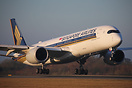 Singapore Airlines have recently introduced the Airbus A350 on the Sin...