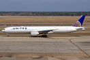 First Boeing 777-322/ER for United Airlines.