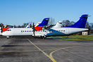 basic SAS colours and put into storage after the ATR72-500 fleet has b...