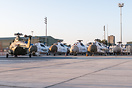 An ever increasing number of old Mil Mi-8s are being stored in a littl...