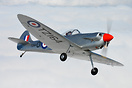 The Isaacs Spitfire is a single seat homebuilt sporting aircraft desig...