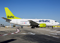 First 737 in the new AirBaltic schemef