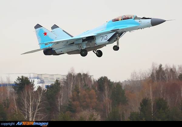 Mikoyan Gurevich MiG-35 (712 BLUE) Aircraft Pictures