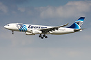 On 18/04/2017 this EgyptAir A330-200 arrived at Dresden Airport for at...
