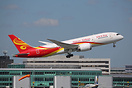 Hainan Airlines has introduced the Boeing 787 Dreamliner on the Beijin...
