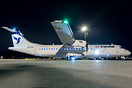 Delivery flight of four ATR-72s to Iran Air, fuelstopping in Athens