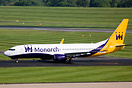 The first Boeing 737 in Monarch's fleet for many years.  TC-AAY will b...