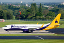 The first Boeing 737 in Monarch's fleet for many years. TC-AAY will be...