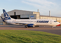 First 737-800 for Romanian Airline TAROM seen here departing from Airb...