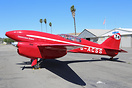 A full scale flying replica of original DH-88 Comet G-ACSS.