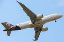 First A320neo for Vistara. The new livery features Vistara and A320neo...