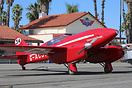 A full scale flying replica of original DH-88 Comet G-ACSS