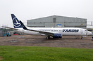 Second 737-800 to be join the fleet of TAROM after being recently pain...