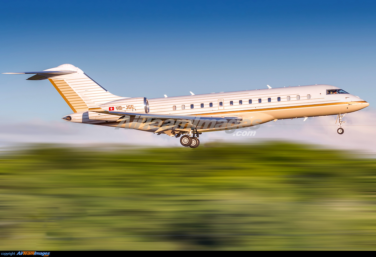 Hb >> Bombardier Global Express XRS - Large Preview - AirTeamImages.com