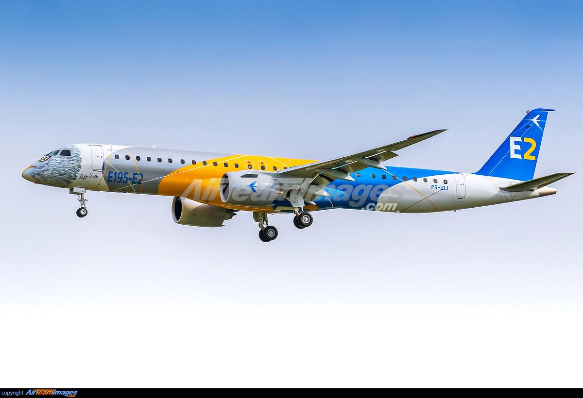 Embraer E195-E2 - Large Preview - AirTeamImages.com Airport