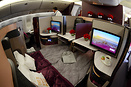 New Business Class Seats for Qatar Airways
