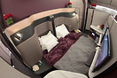 Brand new Qsuite cabin for Qatar Airways