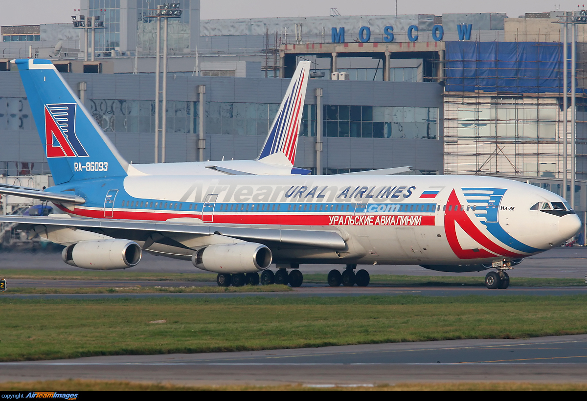 Ilyushin Il 86 Large Preview Airteamimages Com