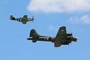B-17 Flying Fortress & Mustang