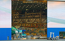 Emirates latest 777-300ER (line 1515) in the final assembly line in Bo...