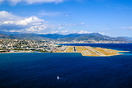 View of the final Approach into Nice Airport RWY04L