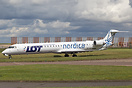 Fresh out of Airbourne Colours at East Midlands is this Hybrid livery ...