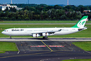 Newest addition to the Mahan Air Airbus A340 fleet, former Olympic SX-...